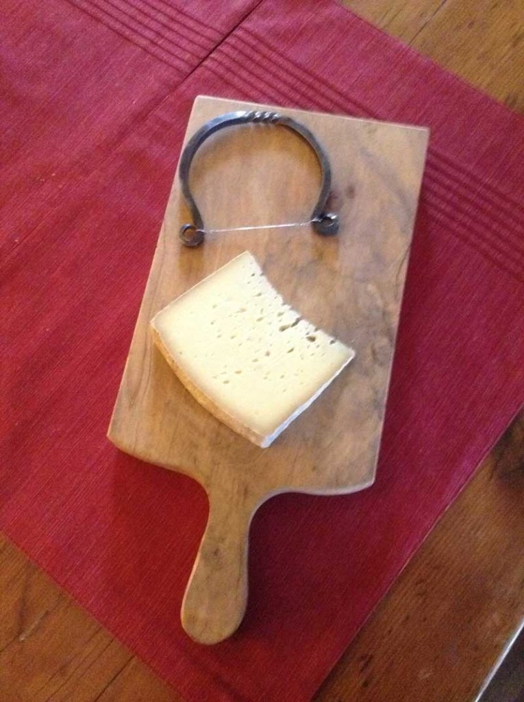 hand made cheese slicer